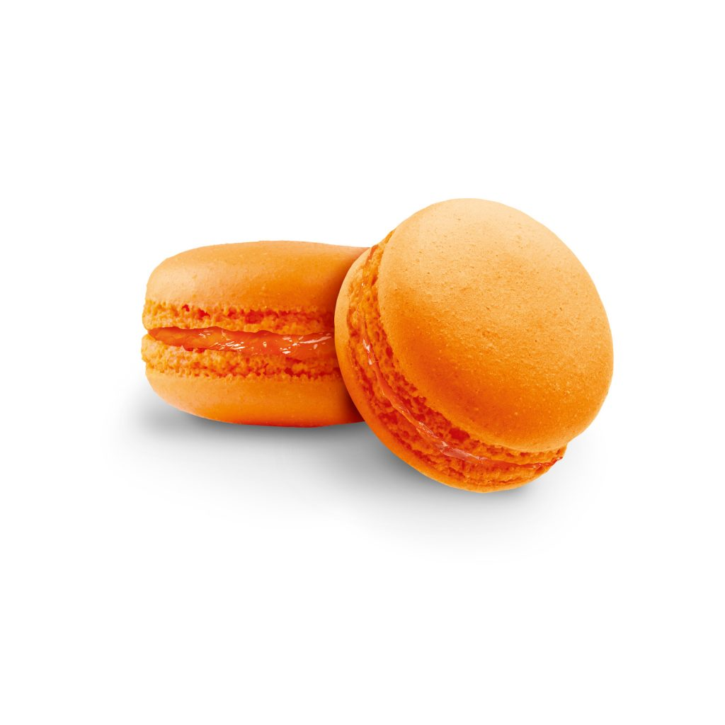 MACARON naranja