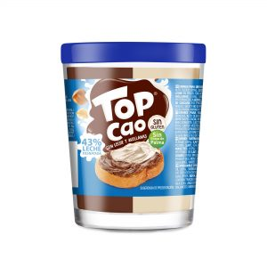 Top Cao leche y avellanas 210g