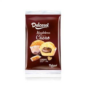Magdalenas rellenas cacao 6U