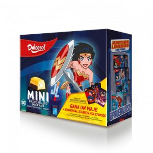 Mini pastelitos Wonder Woman