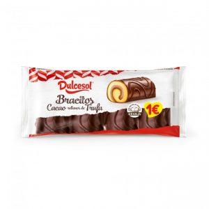 Bracitos trufa y cacao 4u