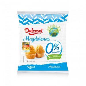 Magdalenas sin azúcares añadidos