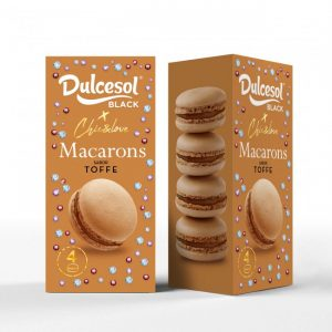 Macarons toffee