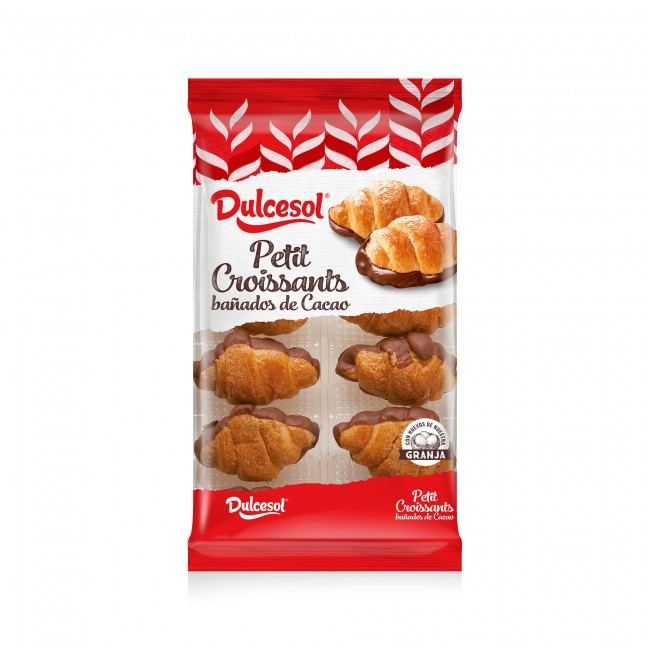 Petit croissants cacao 10u