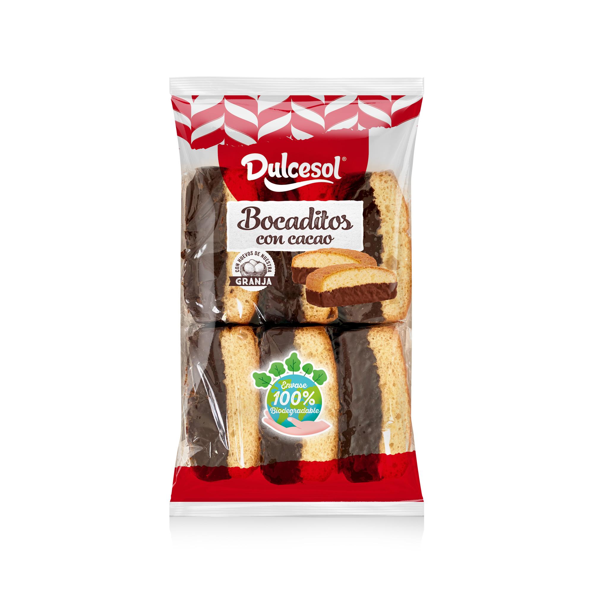 Snack al cacao 12u
