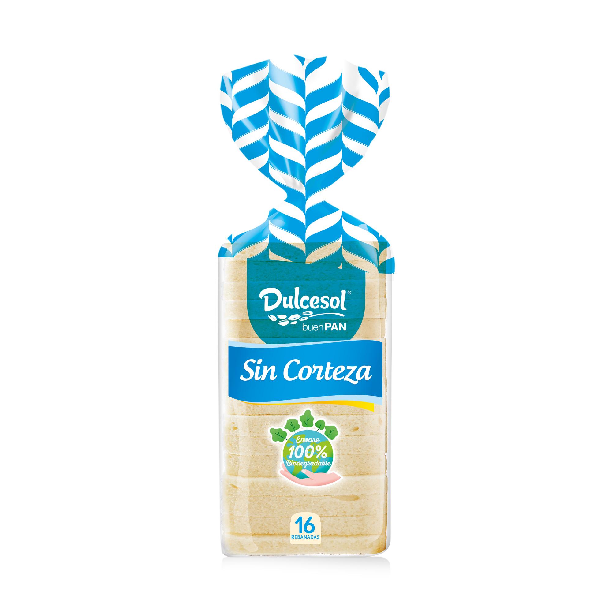 Pan sin corteza 450g