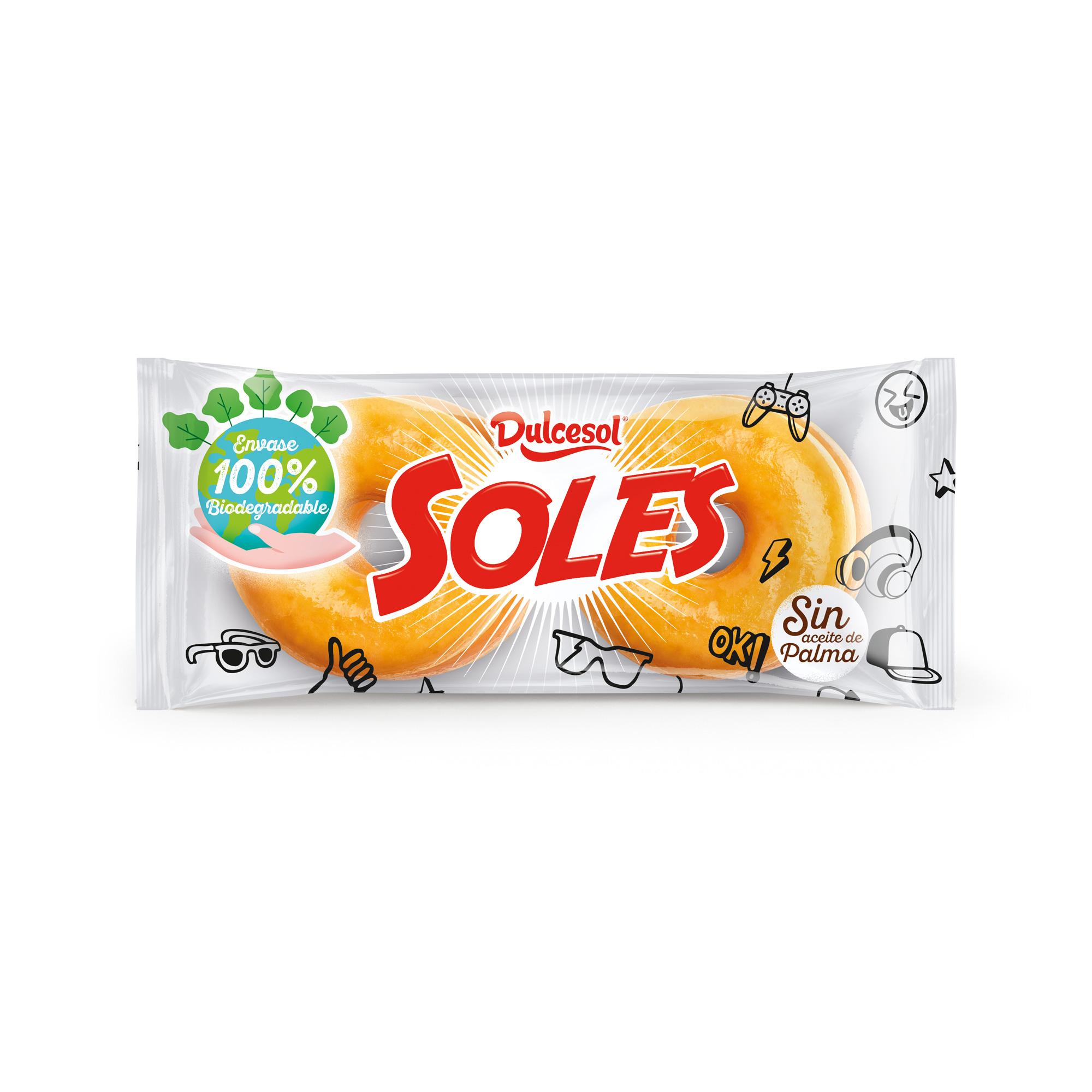 Soles® azucar 4u