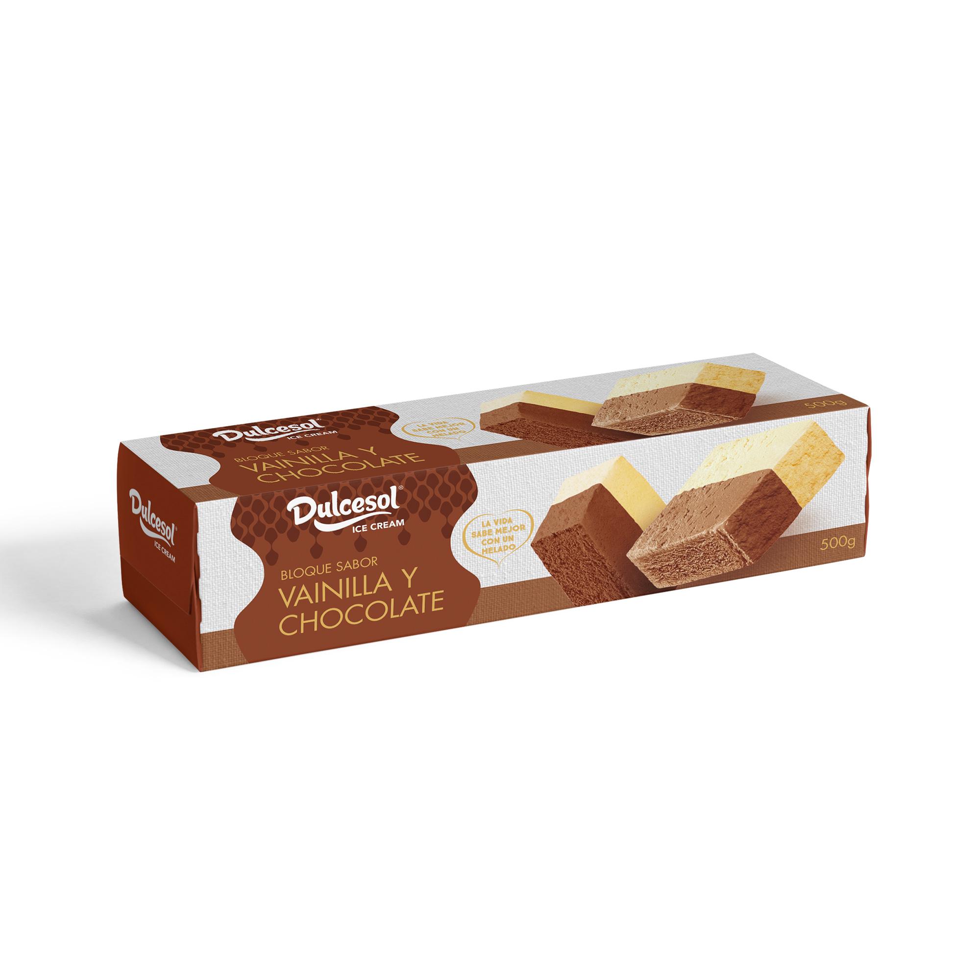 BLOQUE VAINILLA CHOCOLATE 1L