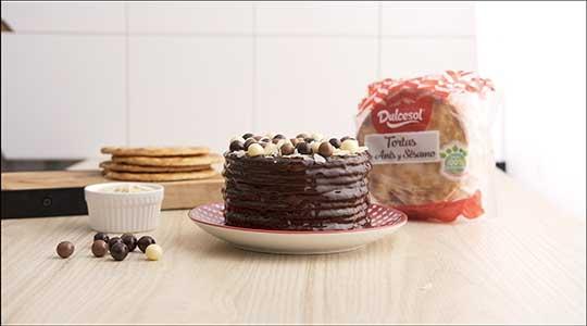 Кремовый и шоколадный торт