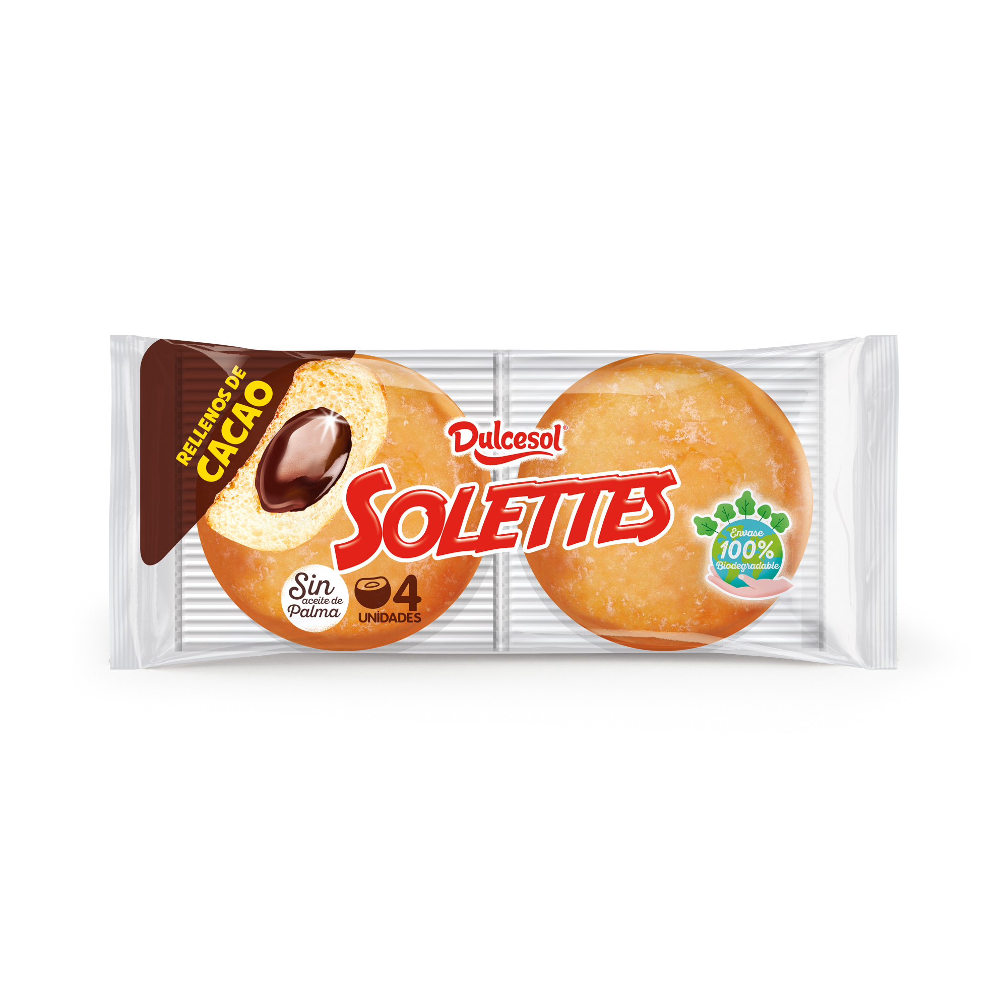 Solettes cacao 4u